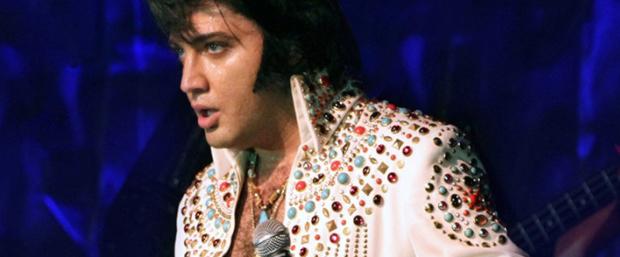 Elvis in the Gardens