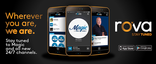 Magic is on a brand new app called rova